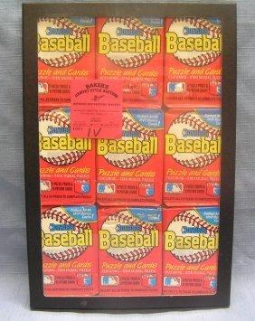 Group Of Vintage Unopened Baseball Packs