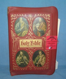 Holy Bible Dated 1955
