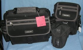 Group Of 3 Quality Camera Accessory Bags