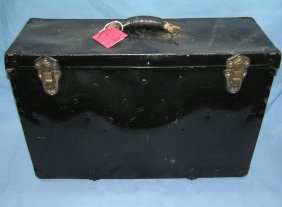 Antique Funeral Director's Medical Carry All Box