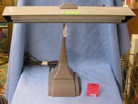 Vintage Dual Florescent Bulb Desk Lamp