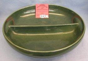 Vintage Art Pottery Bowl Signed Iroquois