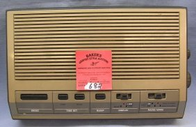 Vintage Ge Clock Radio