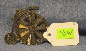 Modern High Wheel Bicycle Pin