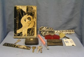Collection Of Auto Memorabilia And Collectibles