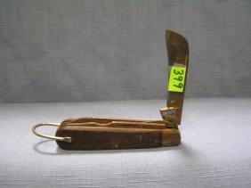 Vintage Three Bladed Pocket Knife