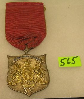 Silver Army Temperance Assoc. Service Medal