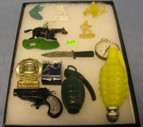 Collection Of Military Toys And Collectibles