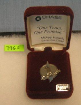 Jp Morgan Chase Bank 30 Year Employee Pin