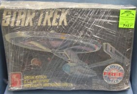 Vintage Star Trek Model Kit