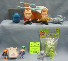Star Trek And Space Toy Collectibles