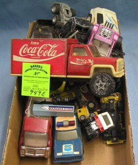 Vintage Toy Cars, Trucks And Collectibles