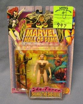 Marvel's Shana The She Devil Action Figure Mint On Card