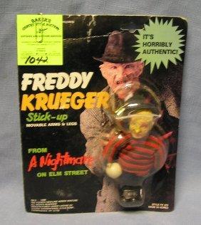 Vintage Freddy Kruger Stick'em Doll