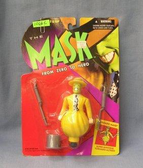 Vintage Mask Spinning Tornado Mask Figural Toy