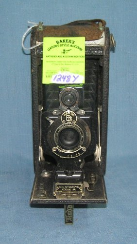 Early Kodak Autographic Film Camera