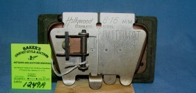 Early Hollywood Automatic Film Splicer