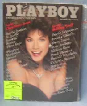 Playboy Magazine Featuring Barbara Benton