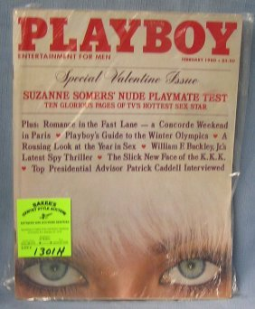 Playboy Magazine Featuring Suzanne Somers