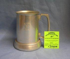 Vintage Playboy Aluminum Drinking Mug