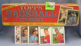 Box Full Of 1988 Topps Baseball Cards