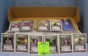 Box Full Of 1995 Star Trek Collector Cards