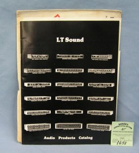 Lt Sound Company Audio Catalog