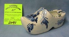 Larger Delftware Dutch Shoe