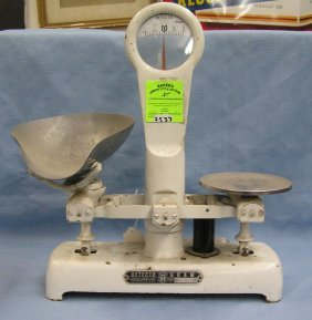 Antique Cast Iron Detecto Country Store Scale