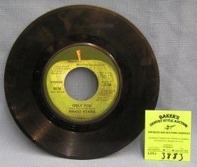 Vintage Ringo Star Record Album On Apple Records