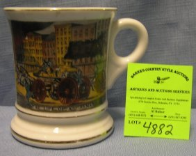 Vintage Fireman's Shaving Mug