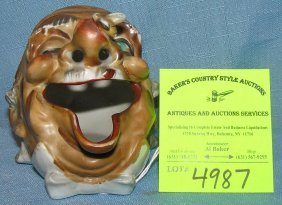 Early Figural Clown Type Figurine With Bee On Nose