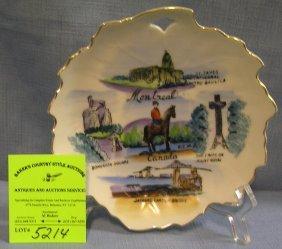 Royal Canadian Mounted Police Dish
