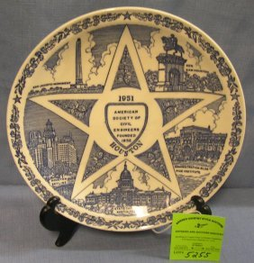 American Society Of Civil Engineers Plate