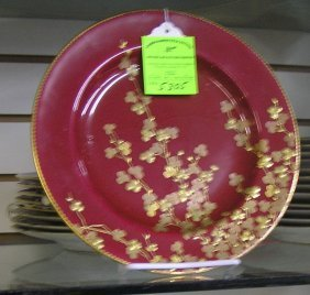 Brown Fields China Serving Dishes Bytiffany