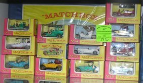 Group Of 13 Org. Matchbox Models Of Yesteryear