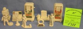 Group Of Vintage Gas Station Display Pieces