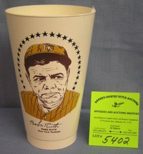 Vintage Babe Ruth Ny Yankees Sports Cup