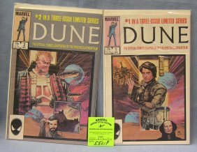 Marvel Dune Comic Books Issues 1 And 2
