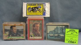 Group Of Vintage Non Sports Collector Cards