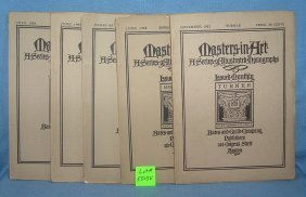 Masters In Art Illustrated Monograph Books