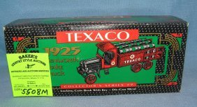 All Cast Metal Texaco 1925 Style Kenworth Oil Truck