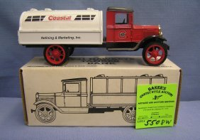 All Cast Metal Coastal Gasoline Truck