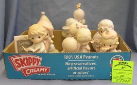 Collection Of Vintage Precious Moments Figurines