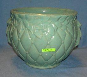 Antique Mccoy Art Pottery Planter