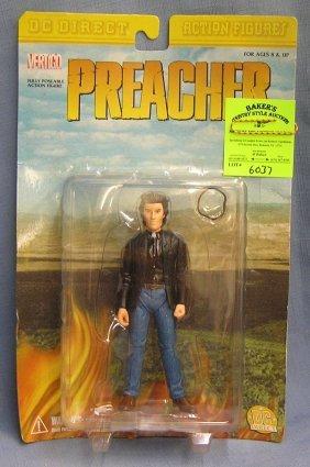 Dc's Preacher Action Figure Mint On Card