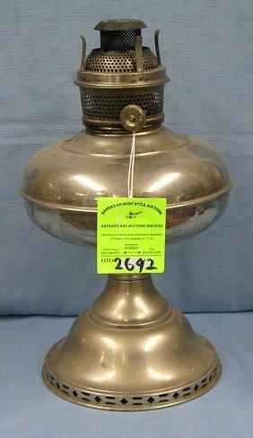 Antique Magnet Oil Lamp
