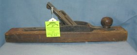 Antique Wood Worker's Plane By Stanley Tool Company