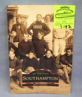 Vintage Photo Illustrated Book On South Hampton Long