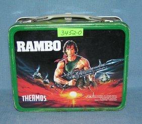 Rambo Metal Lunch Box